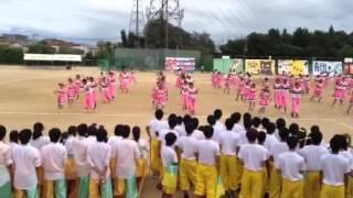 千里高校 体育祭 桃団2013