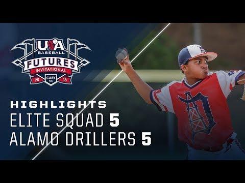 11U Futures Invitational: Elite Squad Vs Alamo Drillers Highlights