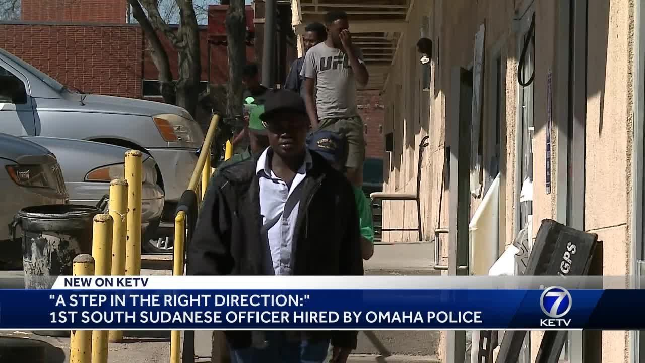 Omaha Police hire first South Sudanese officer