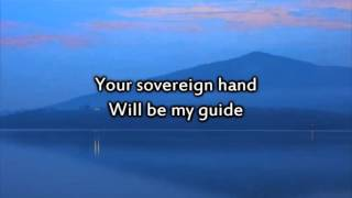 OCEANS (WHERE FEET MAY FAIL) Karaoke Worship Video with Verses and Lyrics