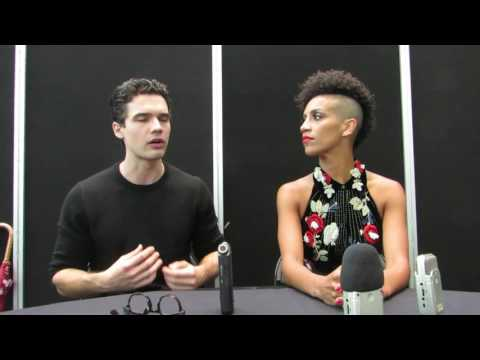 NYCC 2016: The Expanse star Steven Strait and Dominique Tipper