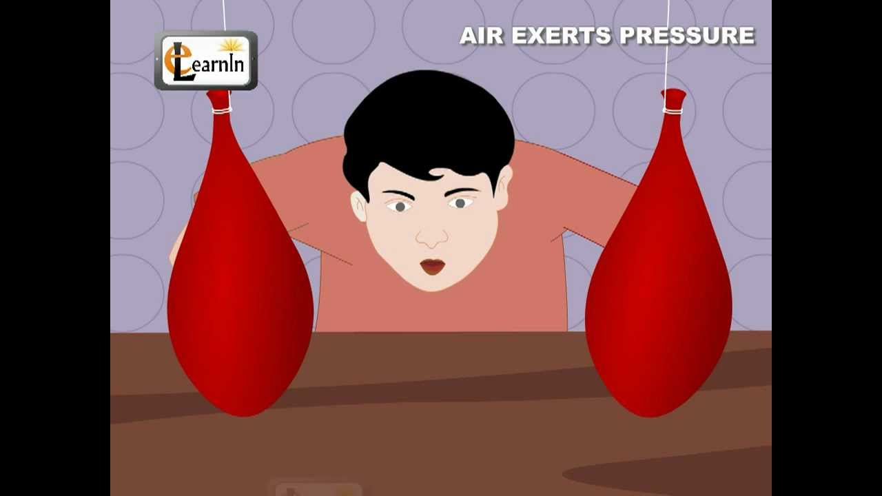Air Exerts Pressure Activity Experiment   Science   YouTube