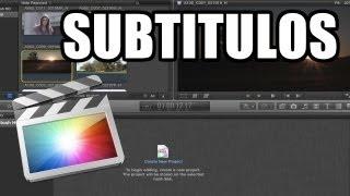 Final Cut Pro X - #39: Subtítulos