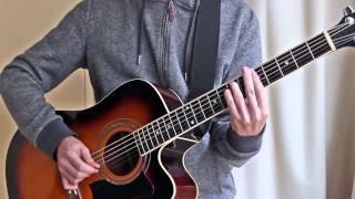 Cómo tocar Gypsy Jazz ritmo y solo fácil - Jazz Manouche estilo guitarra Django Reinhardt