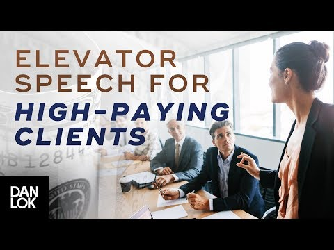 The Perfect Elevator Pitch To Get High Paying Clients   Premium Package Secrets Ep. 7