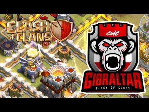 PREPARATORIO DE LA CWC: Gibraltar vs Monserrat | Clash of Clans