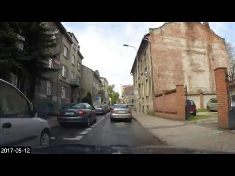 #21 Car travel Poland - timelapse DK74 DK73 Piotrków Kielce Tarnów