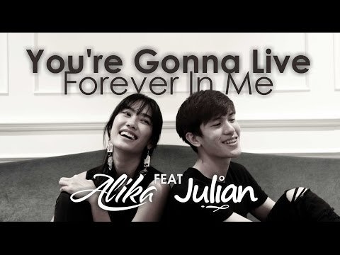 John Mayer - You're Gonna Live Forever In Me (Alika Ft Julian Cover)