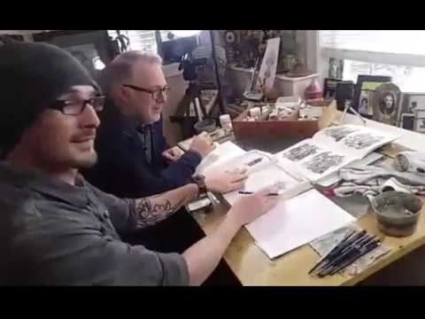 Drawing Demonstration with Tony DiTerlizzi and Patrick O'Donnell