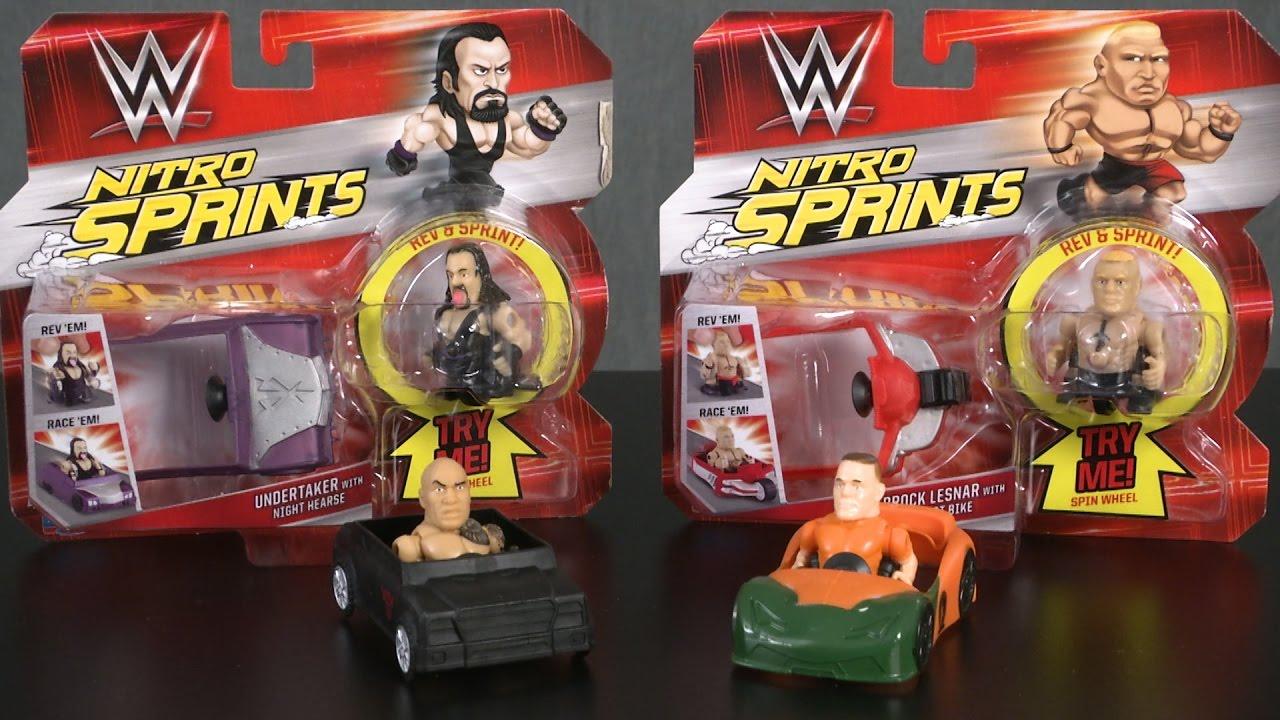WWE Nitro Sprints Brock Lesnar, John Cena, The Rock ...