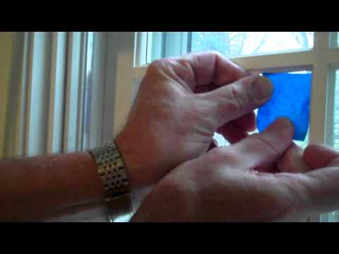 Tips for taping around a window before painting