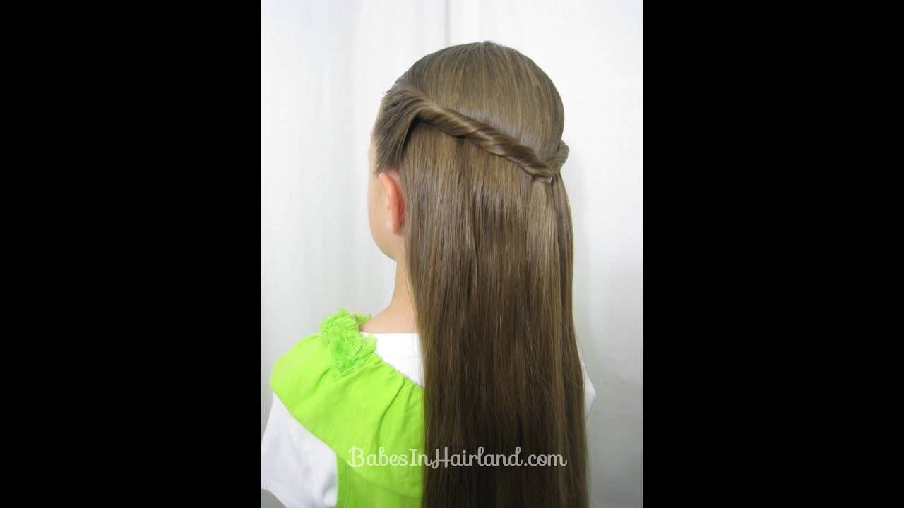 How To Create A Sides Up Slide Hairstyle Easy Pullback Hairstyles