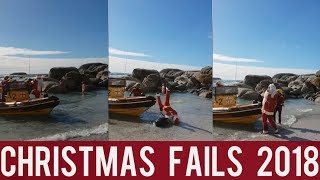 Christmas Fails and Funny! || New Year Fails || New Funny Compilation! || Year 2018!