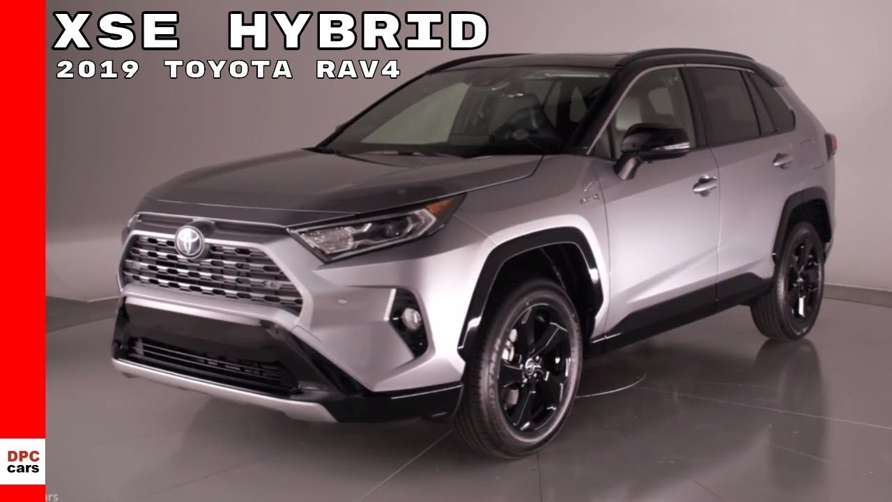 2019 toyota rav4 xse hybrid youtube. Black Bedroom Furniture Sets. Home Design Ideas