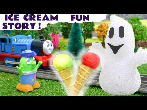Thomas The Train and the Funlings Spooky Ice Cream Toys Story