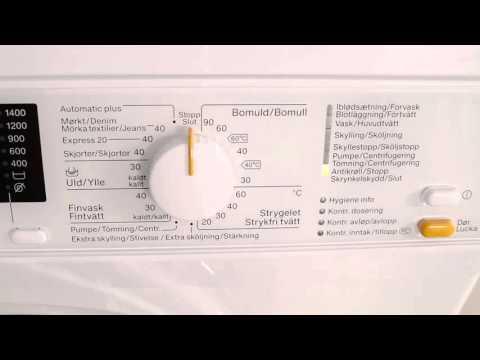Miele WDA116NDS Bedst I Test Vaskemaskine