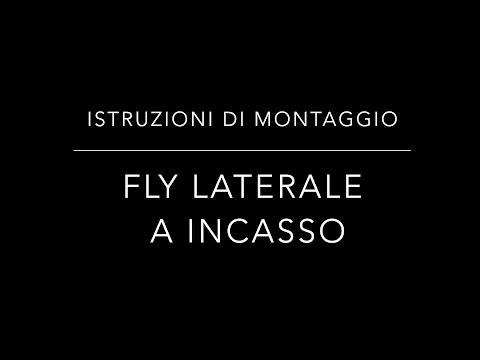 Istruzioni di montaggio zanzariere Fly Incasso