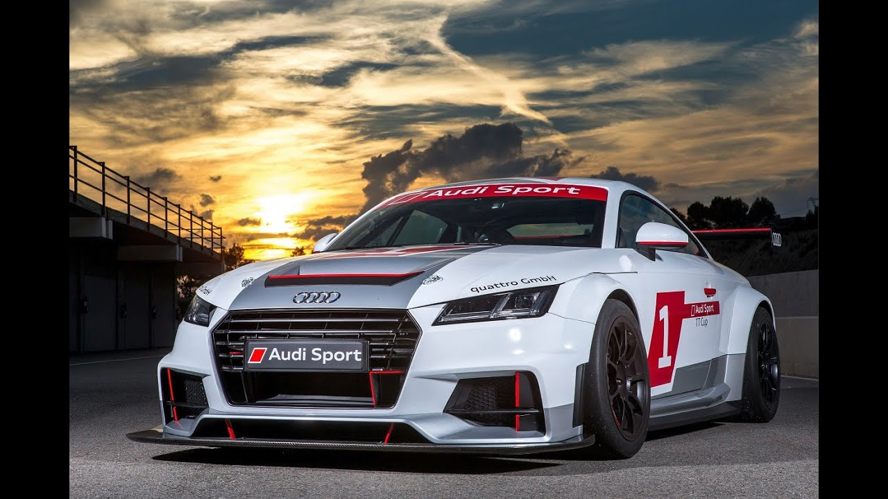 Audi TT Sport Cup Racing Series AWESOME SOUND YouTube - Audi car series