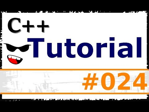 C++ TUTORIAL #024 - Call-by-Value und Call-by-Reference