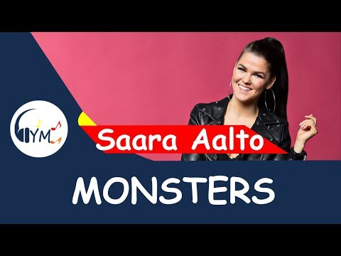 Mix - Saara Aalto - Monsters (Lyrics) - Finland