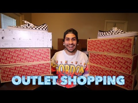 TRIP TO THE OUTLETS: GUCCI, BURBERRY, ADIDAS, NIKE, VANS, POLO RALPH LAUREN + MORE!!!