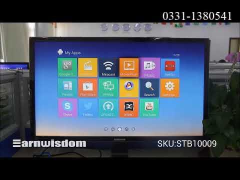 Android SMART TV BOX - MXQ 4K - QUAD CORE - 1G+8G - Black - YouTube