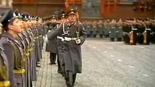 7 ноября 1984г. Москва. Красная площадь. Военный парад.