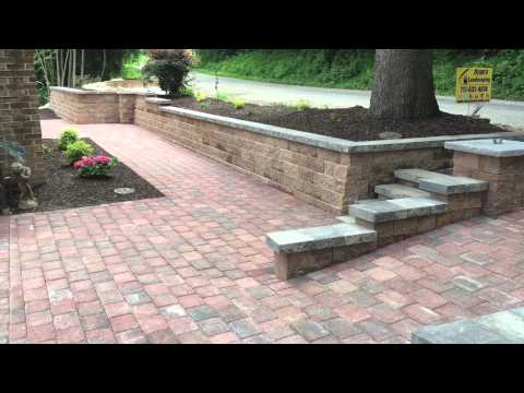 Front yard renovation ideas for retaining walls steps ... on Front Yard Renovation Ideas id=55082