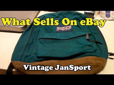 What Sells on eBay: Vintage JanSport Backpacks, Oktoberfest Garb, 1950s Soda Fountain Menu