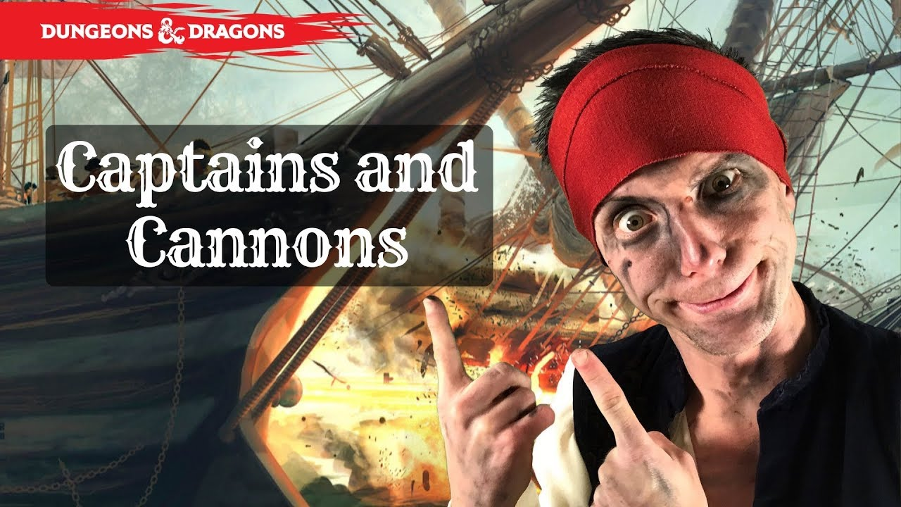 Captains and Cannons! A simple but deep ruleset for naval combat