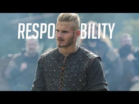Bjorn Ironside - Responsability (Vikings) - vikingos (serie de