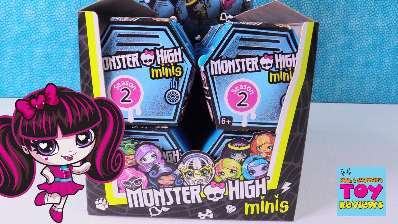 Monster High Minis Mh Season 2 Blind Bag Figure Toy Review