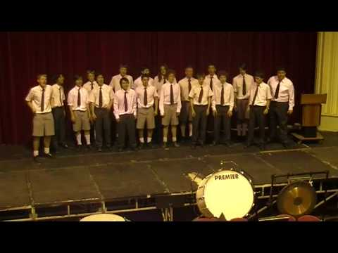 Facebook Song - Barbershop Club @ MHS Family Concert 2009