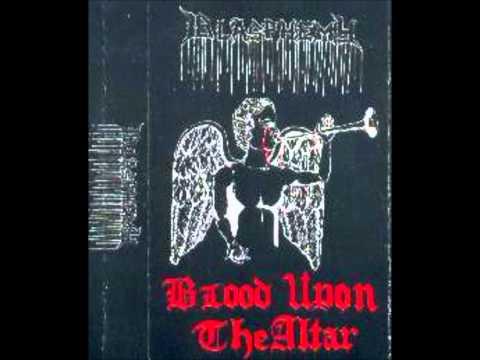 Blasphemy - Blood Upon The Altar - Demo 1989