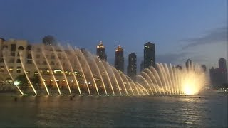 I WILL ALWAYS LOVE YOU- DUBAI MUSICAL FOUNTAIN!!!!!