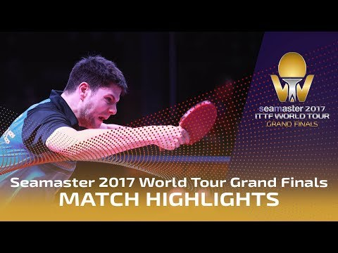 2017 World Tour Grand Finals Highlights: Dimitrij Ovtcharov vs Tomokazu Harimoto (1/4)