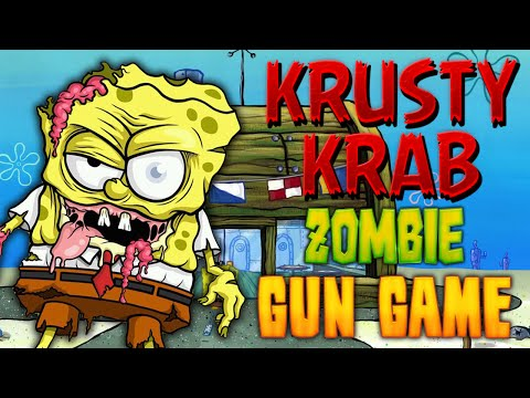 KRUSTY KRAB: ZOMBIE GUN GAME ★ Call of Duty Zombies Mod
