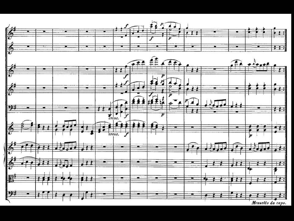 Mozart Sinfonie 40