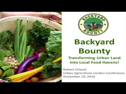 Robert Orland - Urban Agriculture Conference