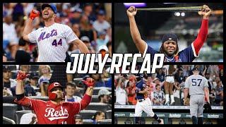 MLB   July Recap (2021)
