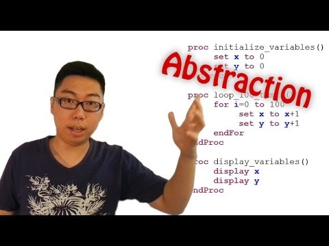 Abstraction - A Programming Concept