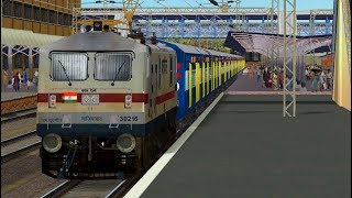 Ramayan Express Departed from New Delhi Railway Station Indian railways msts open rails