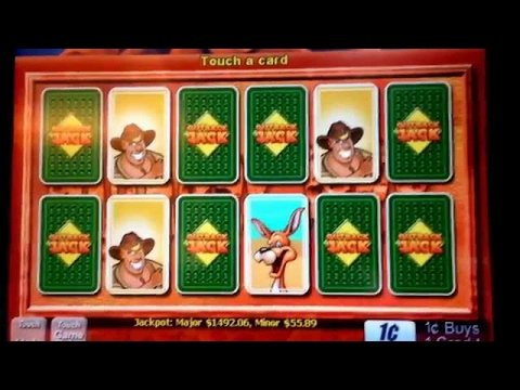 Outback Jack going for Major Jackpot #13 part 2! Max bets, big wins, average wins.