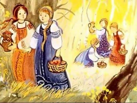 Мультфильм девочка снегурочка в даль