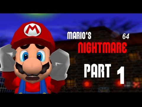Playing Mario's Nightmare 64 - |1| - Mazes and secrets
