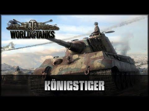 World of Tanks - Live: Königstiger auf der Pirsch [ deutsch 🐄 gameplay ]