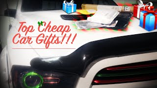 5 Cheap Car Enthusiast Gifts!!! 2019