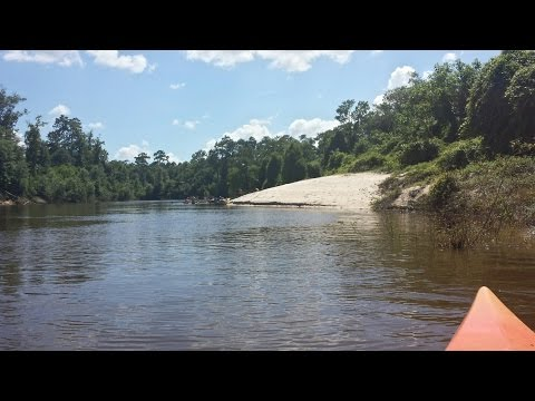 Kayaking The Big Thicket National Preserve on the Neches River