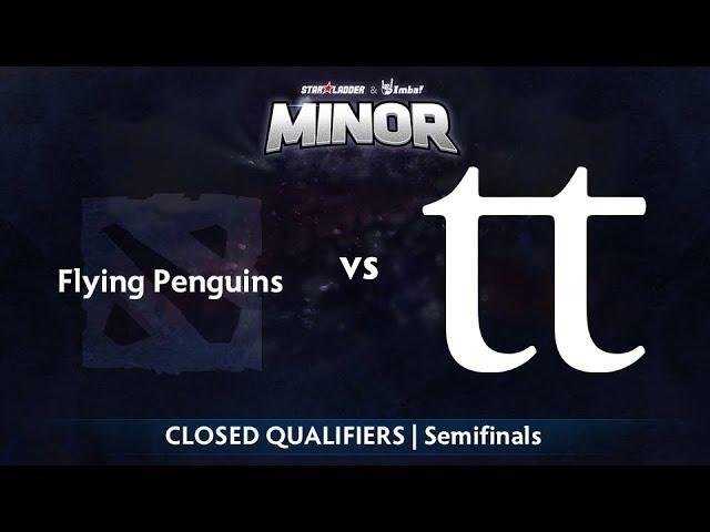 Flying Penguins vs Team Team Game 1 - StarLadder ImbaTV NA Qualifier: Semifinals