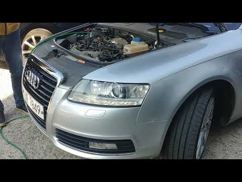 A6 c6 3.0 tdi brown gas carbon cleaning